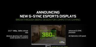 360 Hz 1080p G-Sync Monitör ROG Swift 360 NVIDIA ve ASUS İşbirliğiyle Karşınızda