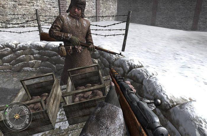 Düşük Sistem Gereksinimli En İyi FPS Oyunları Call of Duty 2