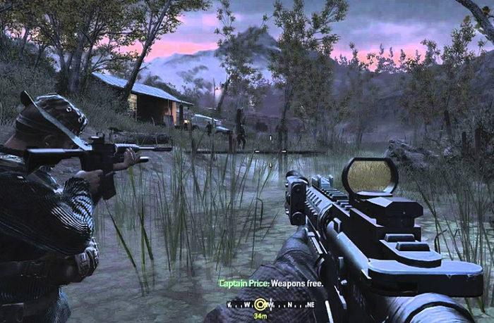 Düşük Sistem Gereksinimli En İyi FPS Oyunları Call of Duty 4: Modern Warfare