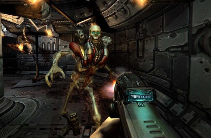 Düşük Sistem Gereksinimli En İyi FPS Oyunları Doom 3