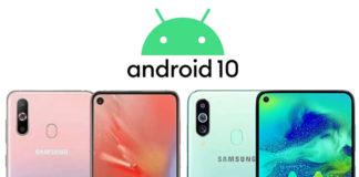 Galaxy A60 ve Galaxy M40 Android 10 Güncellemesini Erken Alabilir