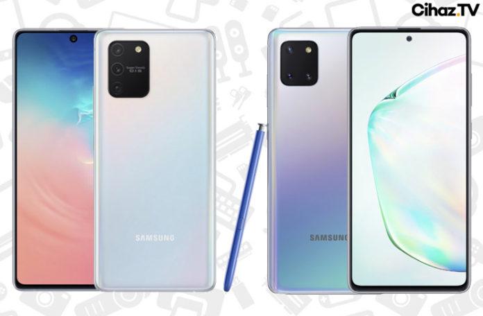 Galaxy S10 Lite ve Galaxy Note 10 Lite Resmi Olarak Tanıtıldı
