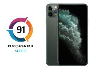 iPhone 11 Pro Max Ön Kamerası DxOMark'ta Ancak Onuncu Olabildi