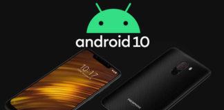Pocophone F1 Android 10 MIUI 11 Güncellemesi Yayımlandı