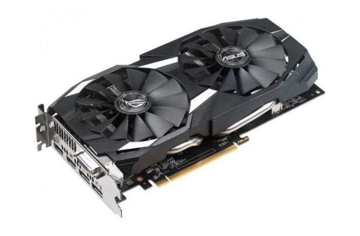 Asus Dual Radeon RX 580 OC 4G