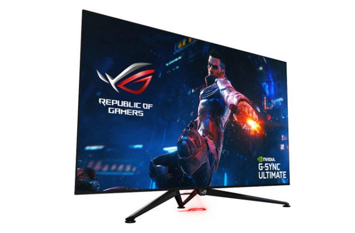 "Paranın Ne Önemi Var Diyenlere 4K Oyun PC Toplama Tavsiyesi  Asus ROG Swift PG65UQ 65"" 144Hz 4ms (HDMI+Display) G-Sync UHD Monitör"