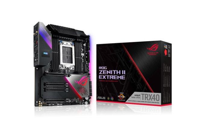 Paranın Ne Önemi Var Diyenlere 4K Oyun PC Toplama Tavsiyesi  Asus ROG Zenith II Extreme AMD TRX40 Soket sTRX4 DDR4 4733(OC)Mhz E-ATX Gaming (Oyuncu) Anakart