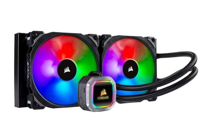 Corsair Hydro Serisi H100i RGB PLATINUM 240mm Intel ve AMD Uyumlu Sıvı Soğutma Sistemi (CW-9060039-WW)
