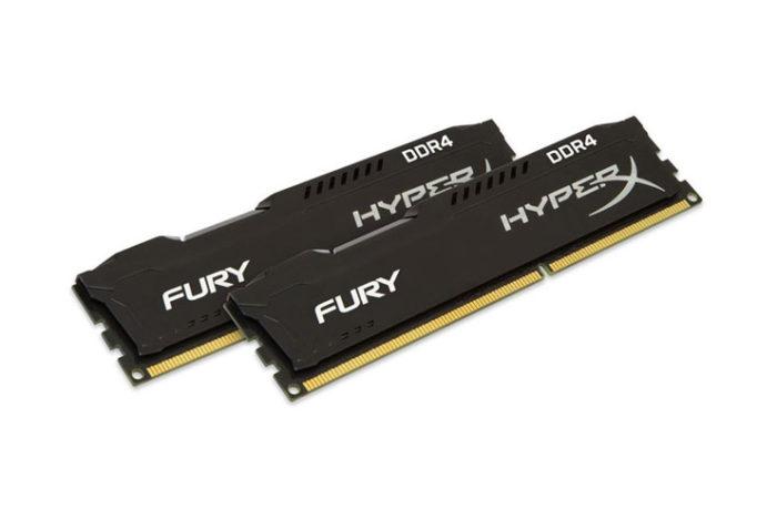 Kingston 16GB(2x8GB) DDR4 3200MHz HyperX Fury Bellek Ram (642 TL)