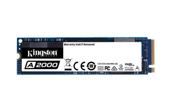 Kingston A2000 SSD (250 GB) (SA2000M8/250G)