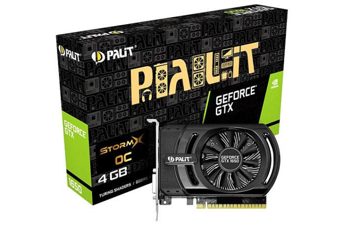 Palit GeForce GTX1650 StormX OC 4GB