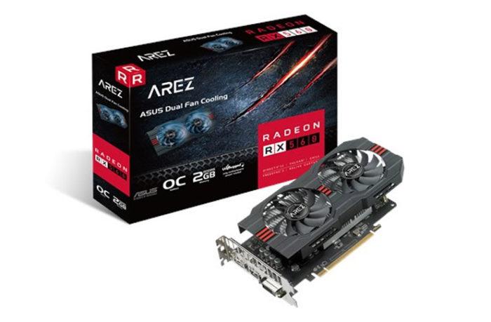 700-1000TL Arası En İyi Ekran Kartı Tavsiyeleri Asus AREZ AMD Radeon RX 560 OC Evo Edition 2GB