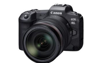 8K Video Çeken Aynasız Fotoğraf Makinesi Canon EOS R5 Tanıtıldı