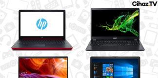 2500-3000 TL En İyi Laptop Tavsiyeleri - Mart 2020