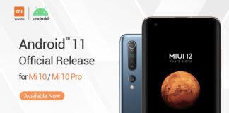 Xiaomi, Mi 10 ve Mi 10 Pro için Android 11 Resmi Sürümünü Duyurdu