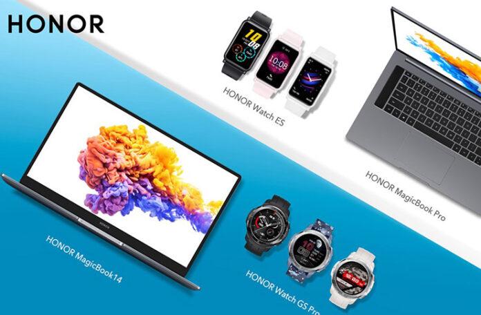 HONOR IFA 2020'de Yeni Akıllı Saatlerini ve Dizüstü Bilgisayarlarını Tanıttı