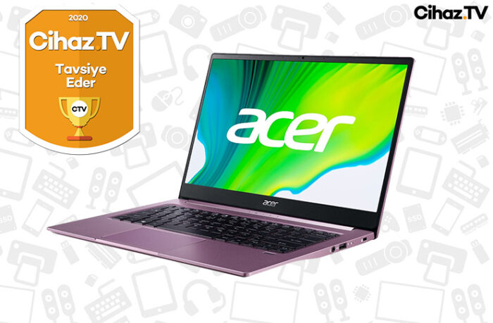 Acer Swift 3 SF314-42 İnceleme - AMD Ryzen 5 4500U Laptop İncelemesi (Video)