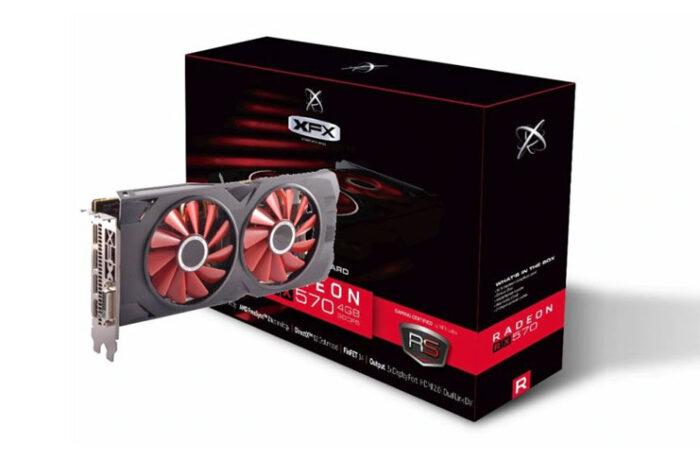 XFX RX570 RS X X X Edition 4GB 256Bit GDDR5 O.C Ekran Kartı (1490 TL)